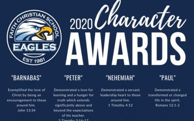 2020 Secondary Character Awards